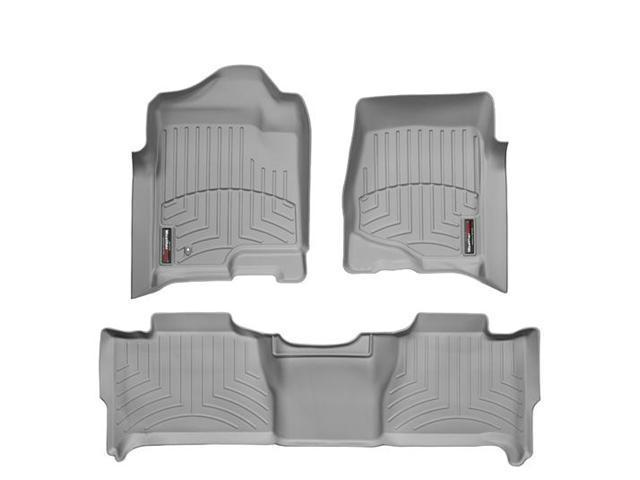 WeatherTech 46066-1-2 Front and Rear Floorliners Grey Chevrolet Suburban 07-11