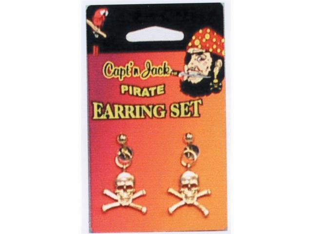 Costumes For All Occasions 10219 Pirate Earring Set