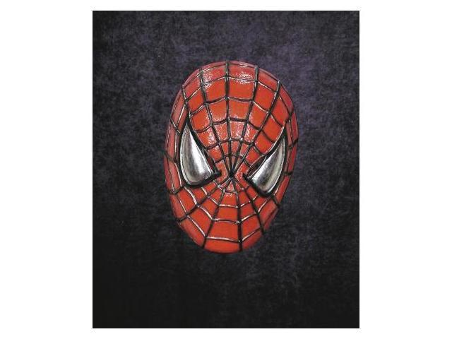 Costumes For All Occasions Ta246 Spiderman Vinyl Mask