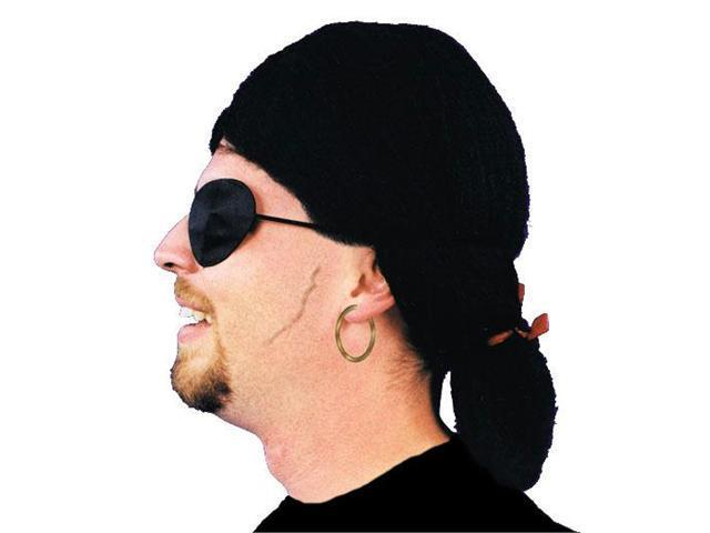 Costumes For All Occasions Ca83 Wig Pirate Black