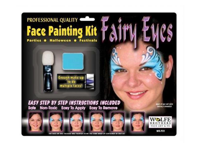 Costumes For All Occasions Wff01 Fairy Makeup Kit Wolfe Bros
