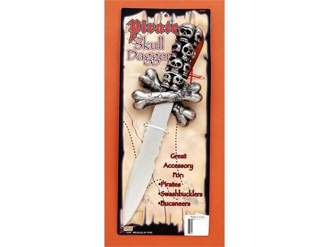 Costumes For All Occasions Fm59567 Pirate Skull Dagger