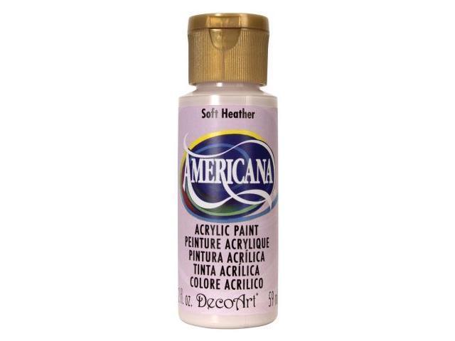 Americana Acrylic Paint 2 Ounces-Soft Heather