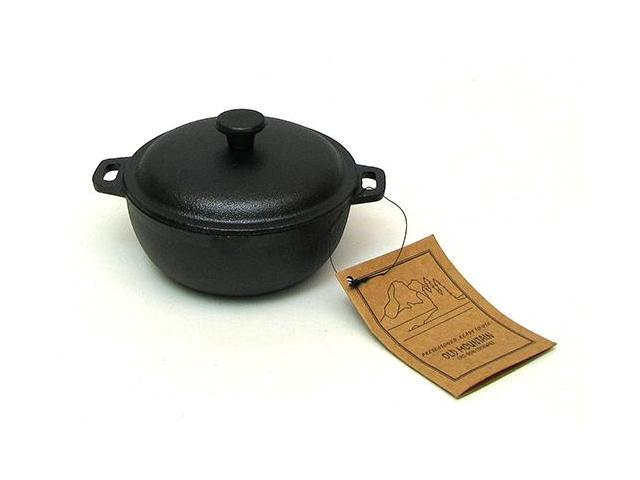 IWGAC 0166-10180 Old Mountain Mini Dutch Oven 2 Cups