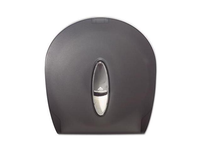 Georgia Pacific 59009 Jumbo Jr. Bathroom Tissue Dispenser, 10 5/8 x 5 1/2 x 11 3/8, Translucent Smoke