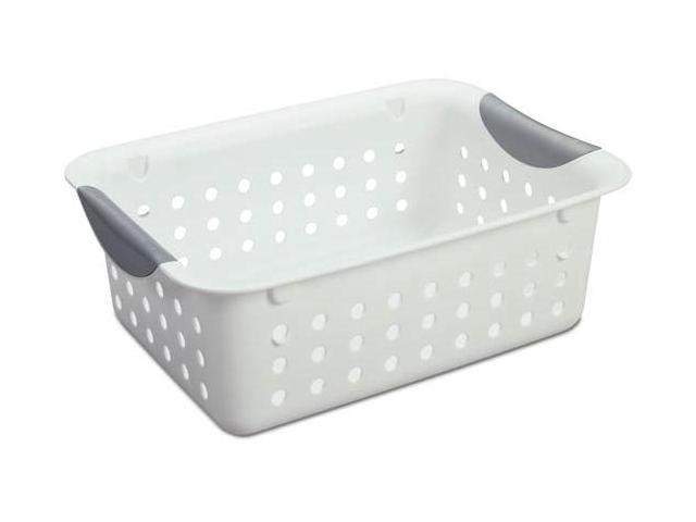 Sterilite Basket Ultra Med Wht 2194-2156
