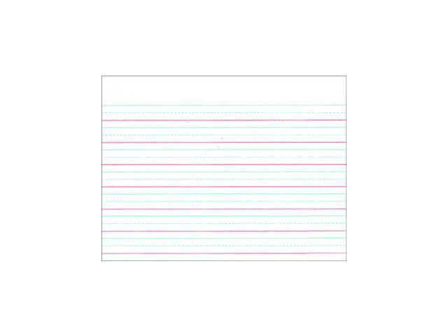 Pacon Corporation PACZP2411 Zaner Bloser 5/8In Ruled Sulphite Paper Gr 1