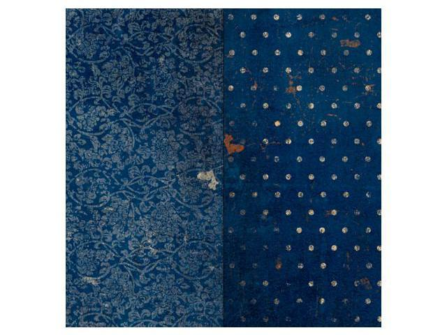 Vintage Double Dot Double-Sided Cardstock 12