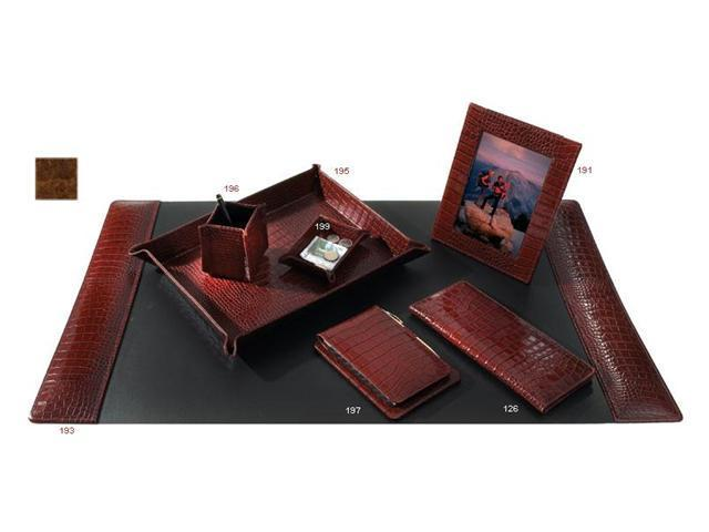 Raika VI 193 COGNAC 34in. x 20in. Desk Pad - Cognac