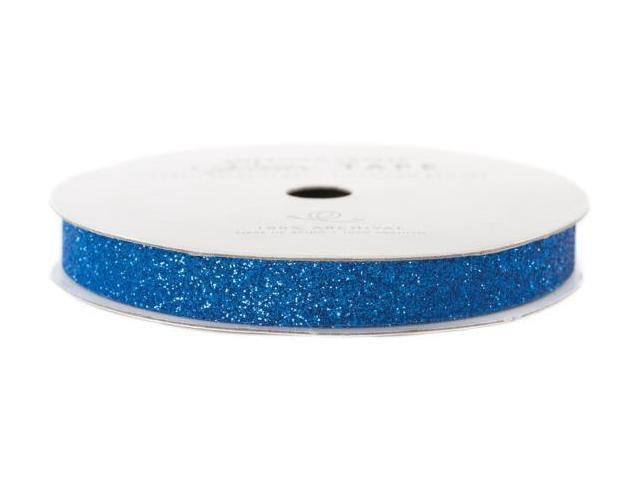 Glitter Paper Tape 3 Yards/Spool-Marine .375