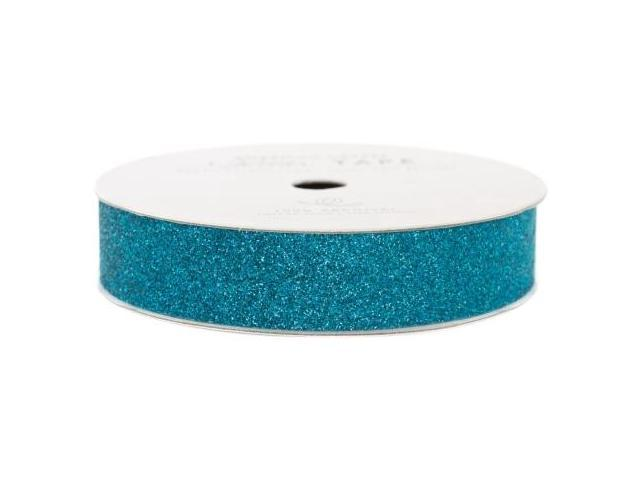 Glitter Paper Tape 3 Yards/Spool-Peacock .625