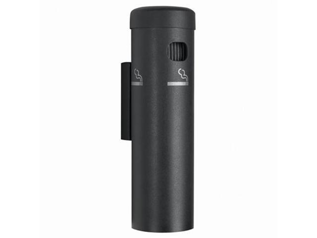 Aarco Products SB15W Wall Mounted Cigarette Receptacle - Black