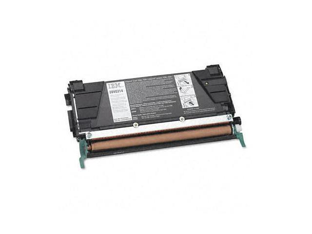 IBM Black High Yield Return Toner Cartridge For Infoprint Color 1534 Printer 8000 Page Black 39V0314
