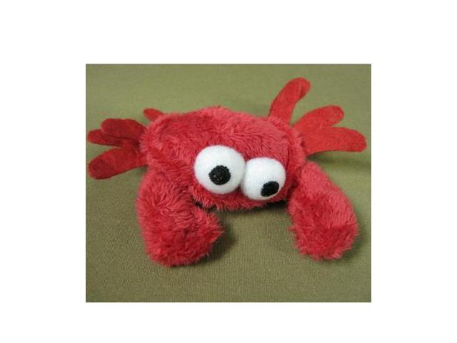 Doggles TCSUS11-13 Toy Cat Sushi Crab Red
