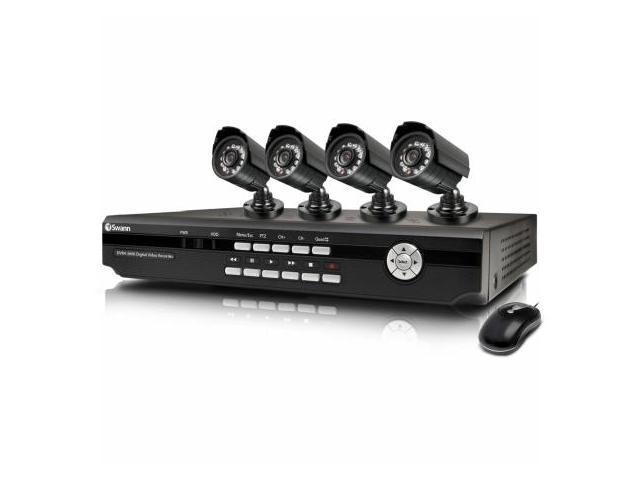 Swann SWDVK-426004 4 Channel DVR with Smartphone Viewing and 4 x CCD Cameras