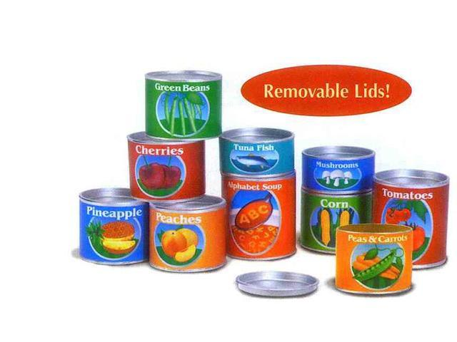 Melissa and Doug 4088 My Pantry Canned Food