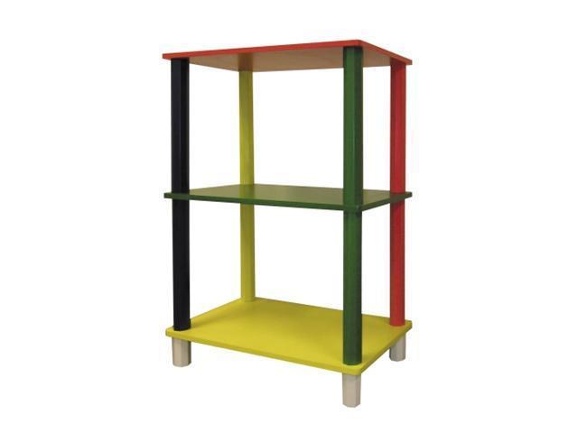 Ore International H-59 Kids  3-Tier Rectangle Shelves
