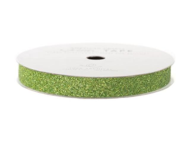 Glitter Paper Tape 3 Yards/Spool-Spinach .375