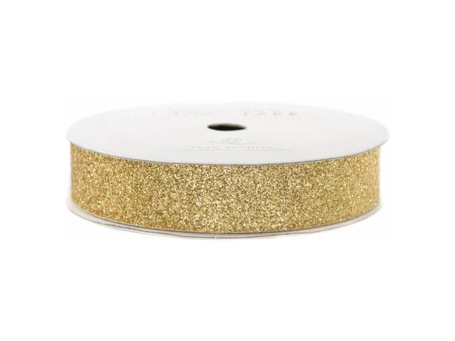 Glitter Paper Tape 3 Yards/Spool-Brown Sugar .625