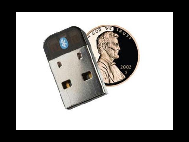 """SMK VP6495 0.6"""" x 0.8"""" x 0.2"""" Bluetooth Dongle v4.0"""