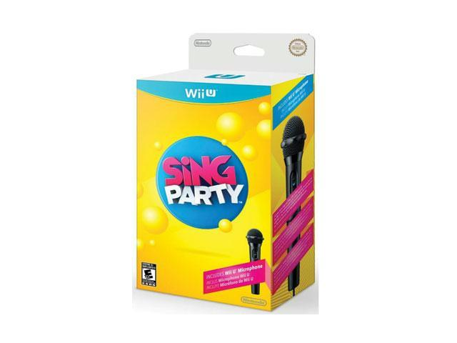 Nintendo WUPRASWE Wii U Sing Party with Mic