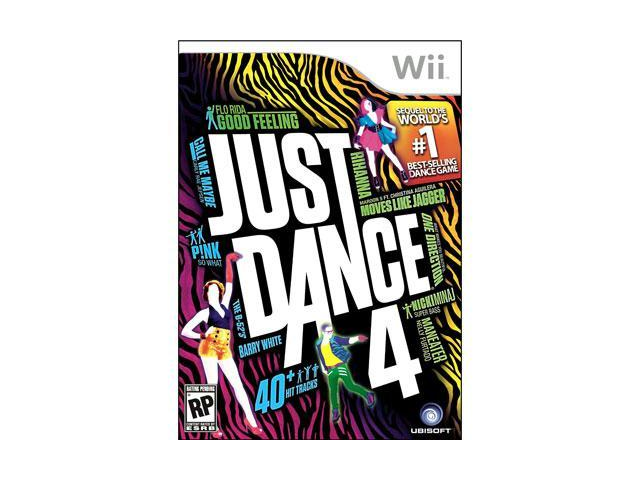 Ubisoft 17720 Just Dance 4 Wii - Game DVD