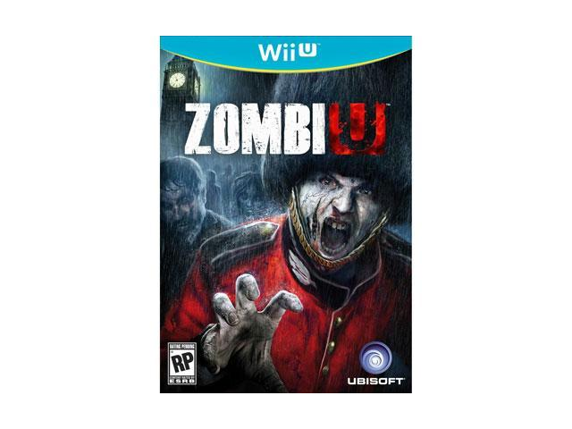 Ubisoft 18719 ZombiU First Person Shooter Wii U Game