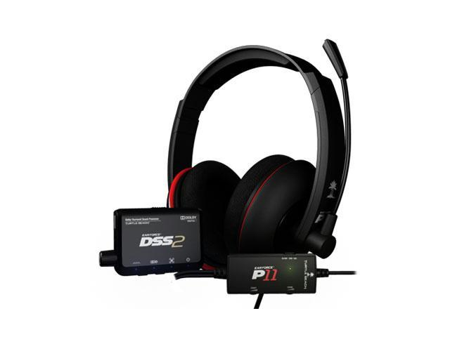 Turtle Beach Ear Force DP11 PS3 Headset DSS2 and P11