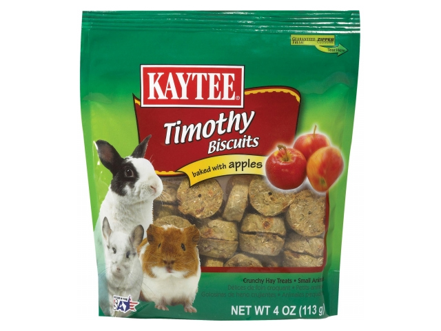 Kaytee Products Inc - Timothy Hay Baked Small Animal Treat- Apple 4 Ounce - 100505089