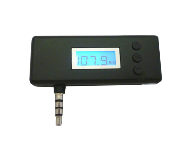 Professional Cable FM-TRANS2 FM Transmitter for iPad, iPhone, iPod, and Most Smartphones - Black