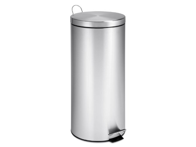 Honey Can Do 30L Round Stainless Steel Can With Bucket - TRS-02110