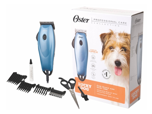 Oster Corporation Pet - Oster Lucky Dog Clipper Kit- Blue - 078960-000-000