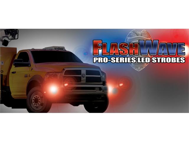 PlasmaGlow 10908 FlashWave LED Strobe System - AMBER