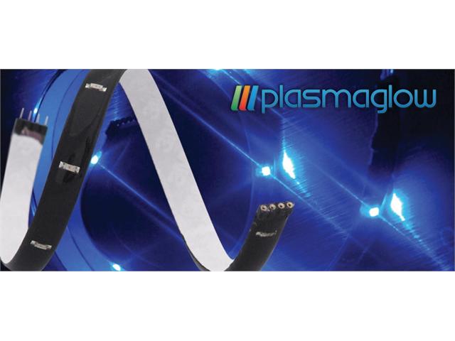 PlasmaGlow 10712 LumaTAPE Flexible LED Strip - 12in. - GREEN