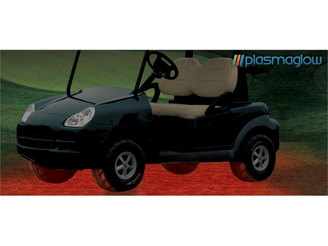 PlasmaGlow 10839 Flexible LED Golf Cart Kit - BLACK LIGHT