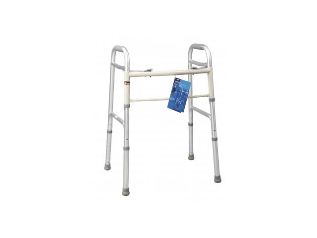 Carex dual paddle adult folding walker