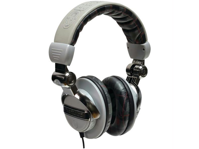 Ecko Unlimited Eku-frc-pldgry Ecko Force Over-the-ear Headphones With Microphone - plaid Gray