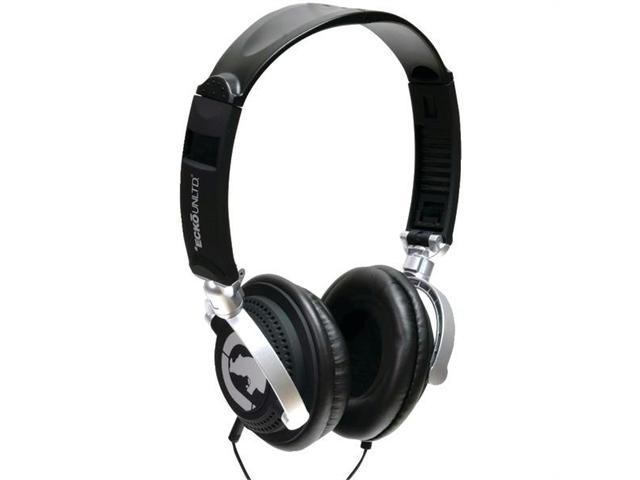 Ecko Unlimited Eku-mtn-bk Ecko Motion Over-the-ear Headphones With Microphone - black