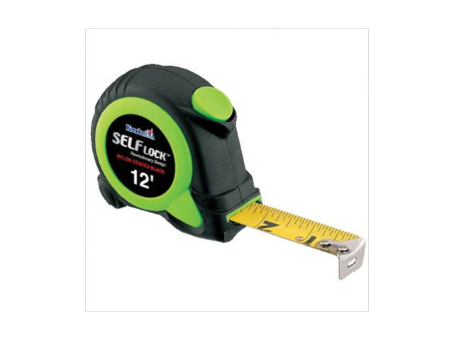 Komelon USA 416-SL2812 12' Self Lock Self-Locking Tape Measure