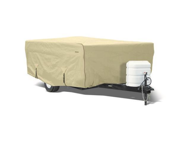 Eevelle GLRVPU0810T 8-10 ft. Goldline Cover Folding Camper - Tan