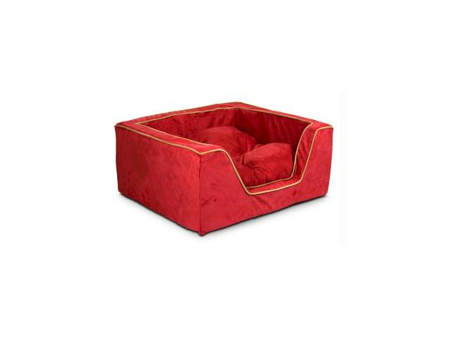 Snoozer SN-21481 Luxury Square Pet Bed - Extra Large-Olive-Coffee