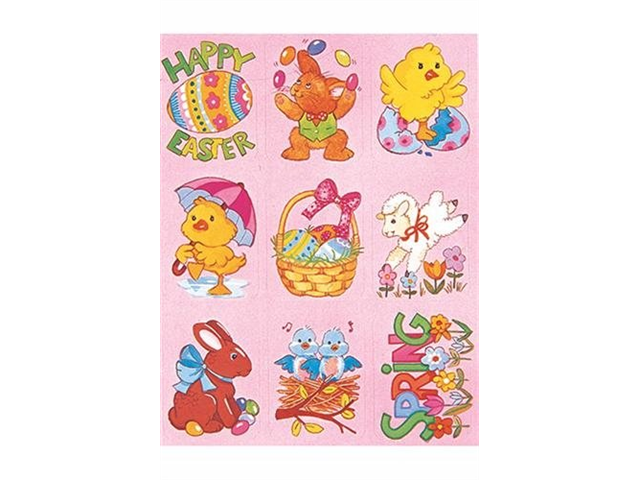 Eureka EU-670410 Easter Giant Stickers