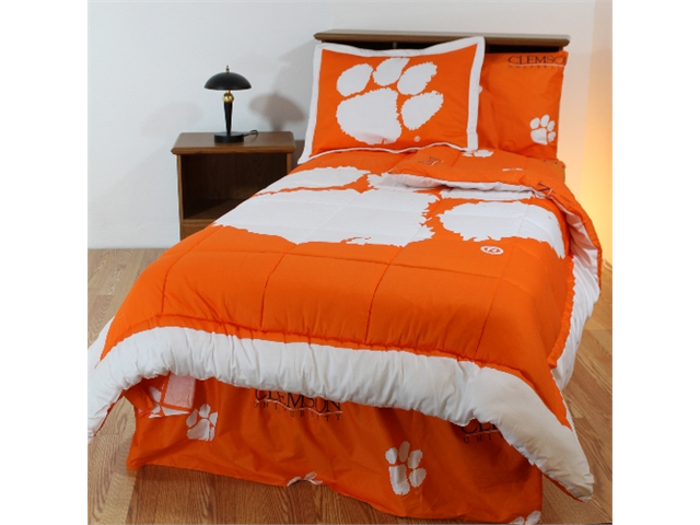 college covers clebbflw clemson bed in a bag with