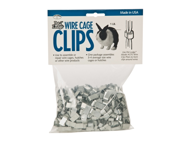 Miller Manufacturing Wire Cage Clips  ACC1