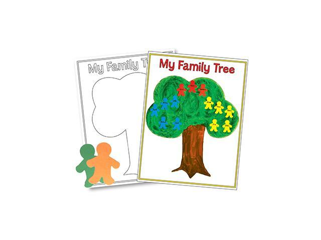Hygloss Products Inc. HYG30145 Family Tree Poster