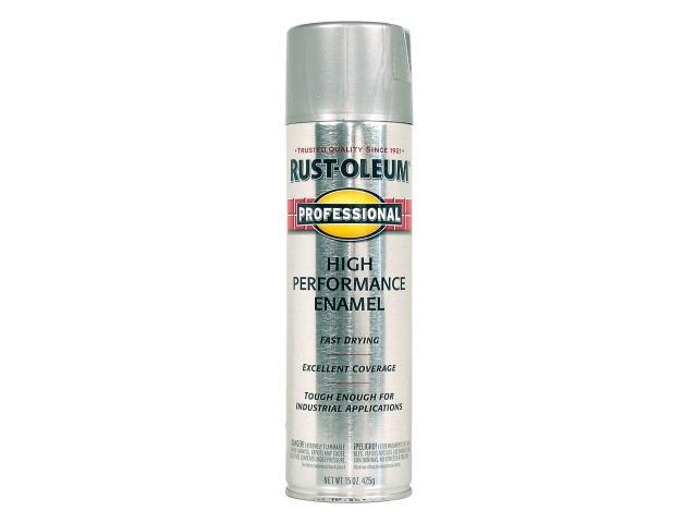 Rustoleum 7519 838 14 oz stainless steel high performance for Can you spray paint stainless steel