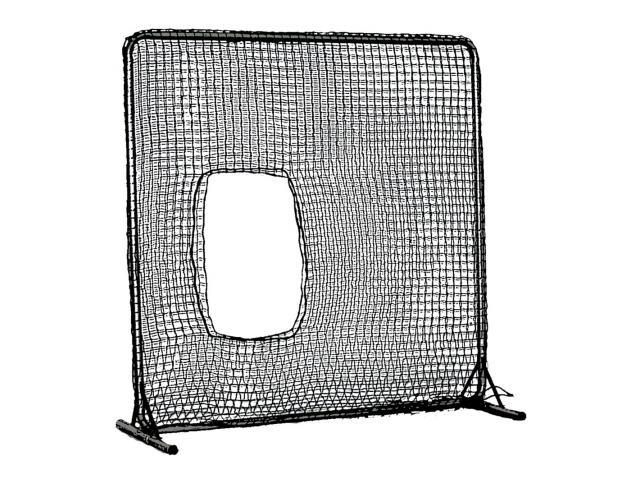 Cimarron Sports CM-7x7SBNCF 7 x 7 Commercial Frame and Softball Net