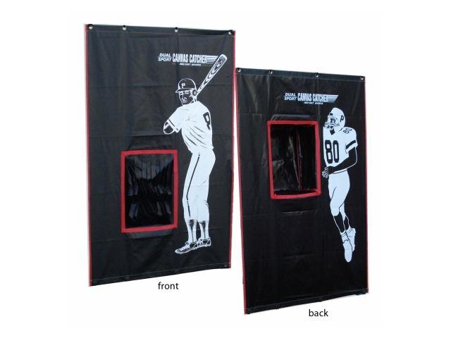 Cimarron Sports CM-2SPCBSF Two Sport Catcher Vinyl Backstop with Frame