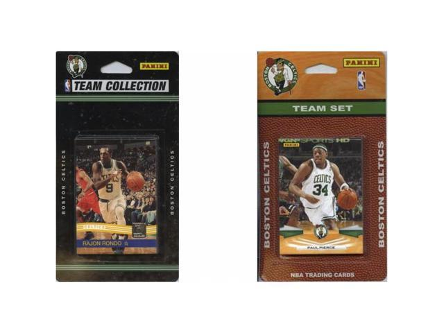 C & I Collectables CELTICS2TS NBA Boston Celtics 2 Different Licensed Trading Card Team Sets