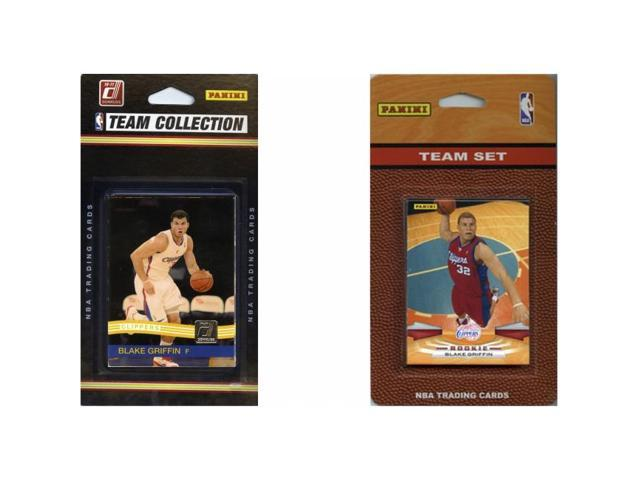 C & I Collectables CLIPPERS2TS NBA Los Angeles Clippers 2 Different Licensed Trading Card Team Sets